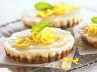 Lemon Tarts with Nut Crust recipe