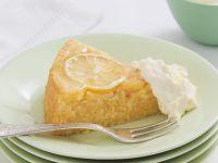 Lemon Topped Polenta Cake recipe
