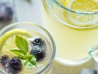 Lemonade with Blackberries and Basil recipe
