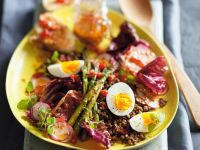 Lentil and Asparagus Salad recipe
