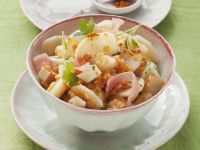Lentil Ham Salad with Parsley recipe