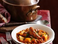 Lentil Stew with Sausages recipe
