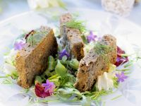 Lentil Terrine with Salad recipe