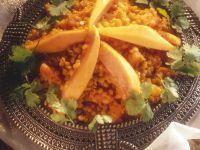 Lentils with Papaya recipe