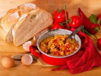 Letscho (Hungarian-Style Peppers and Eggs) recipe