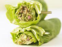 Lettuce Wraps with Avocado and Tuna recipe