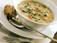Lima Bean and Potato Chunky Soup recipe