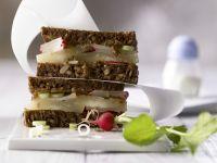 Limburger Rye Bread Sandwich recipe