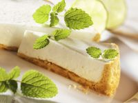 Lime and Almond Tart recipe