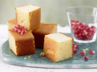 Lime Cake Squares recipe