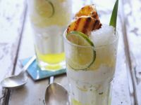 Citrus Snow with Yoghurt Creme recipe