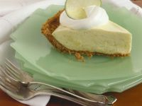 Lime Tart with Cracker Crust recipe