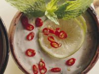Lime-Yogurt Sauce recipe