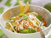 Linguine with Zucchini and Lemon recipe