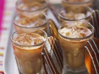 Liqueur Cocktails with Chocolate Thins recipe