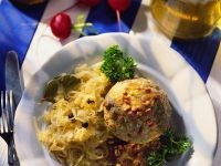 Liver Dumplings with Sauerkraut recipe