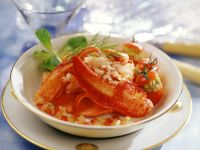 Tomatoes with Seafood Filling recipe