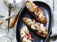 Lobster Salad with Ciabatta Toast recipe