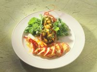 Lobster Salad with Quinoa recipe