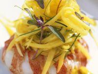 Lobster with Mango Salad recipe