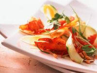 Lobster with Papaya Salad recipe