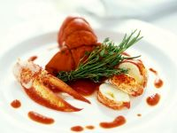 Lobster with Tomato Sauce recipe