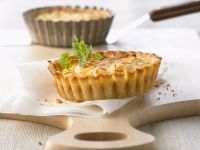 Diet-friendly Egg and Fish Tartlets recipe