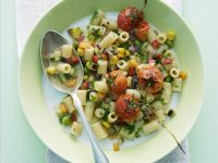 Macaroni with Vegetable Ragout recipe