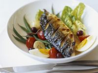 Mackerel Fillet with Egg recipe