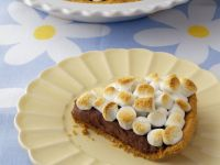 Mallow and Chocolate Gateau Slice recipe