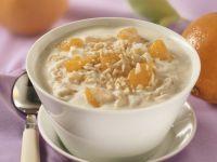 Mandarin and Ginger Quark recipe
