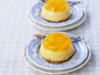 Mandarin Ginger Custards recipe