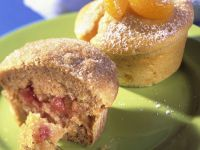 Mandarin Muffins with Jam recipe
