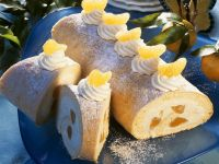 Mandarin Orange Roulade recipe