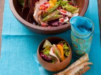 Mango and Avocado Salad with Turkey recipe