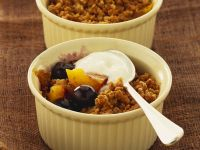Mango and Berry Crumble recipe