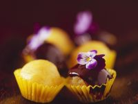 Mango and Marzipan Petit Fours recipe