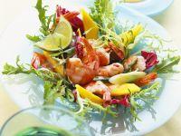 Mango and Shrimp Salad recipe