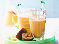 Mango-Passion Fruit Lassi recipe