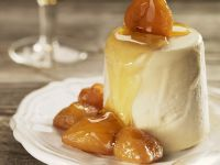 Maple Caramel Creams with Candied Chestnuts recipe