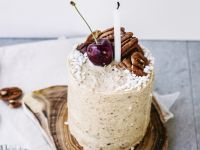 Maple Pecan Ice Cream Cakes recipe