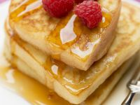 Maple Syrup Pancakes with Fruit recipe