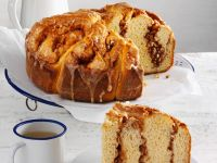 Marbled Almond and Cinnamon Bread recipe