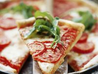 Margherita Pizza with Rocket recipe