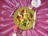 Marinated Artichokes with Mixed Greens recipe
