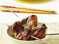 Marinated Asian-Style Chicken Wings recipe