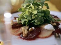 Marinated Beet and Celery Root Salad recipe