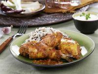 Marinated Chicken with Rice recipe