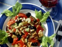 Marinated Eggplant and Vegetables recipe