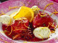 Marinated Figs with Pistachio Cream